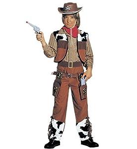 WIDMANN Desconocido Déguisement Western Cowboy (5/7ans - 128 cm)
