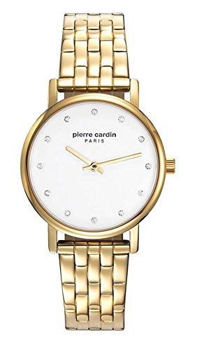 Pierre Cardin Reloj Analogico para Mujer de Cuarzo con Correa en Acero Inoxidable PC108152F05
