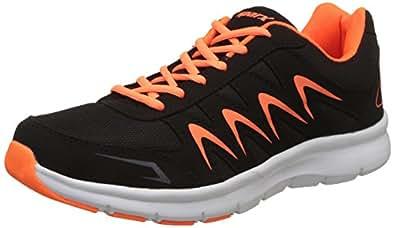 Sparx Men's Black and Orange Running Shoes - 6 UK/India (40 EU)(SX-276)