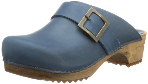 Sanita Urban Damen Clogs, Blau (5 blue), 39 EU