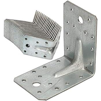 sendzimirverzinkt GAH-Alberts 330187 Winkelverbinder Gro/ßpack 40 x 40 x 20 mm // 25 St/ück
