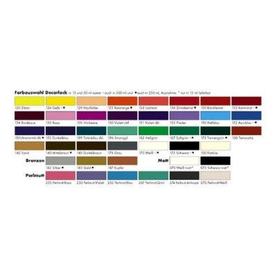 Decorlack Acryl 50ml silber # MAR 113005782 metallic