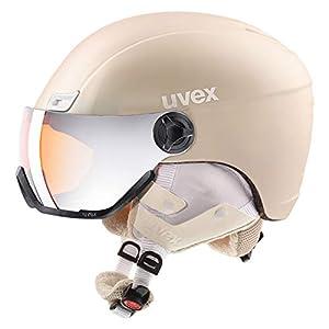 uvex Unisex– Erwachsene, hlmt 400 visor style Skihelm