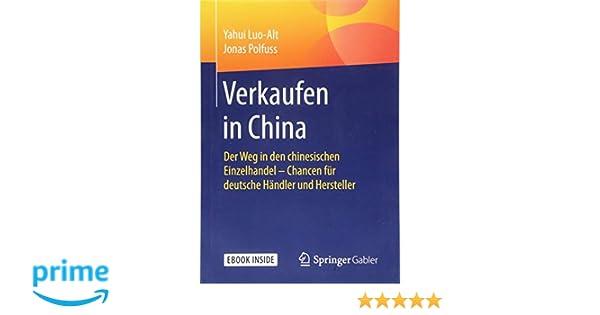 2a5267f81b28d7 Verkaufen in China  Der Weg in den chinesischen Einzelhandel - Chancen -  Yahui Luo-Alt