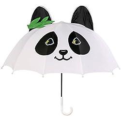 Kidorable Paraguas Marca Original para Niños y Niñas (Panda)