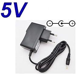 Adaptateur Secteur Alimentation Chargeur 5V pour Remplacement Ecoute-bébé Babymoov Babyphone Digital Green Vert A014200 puissance du câble d'alimentation