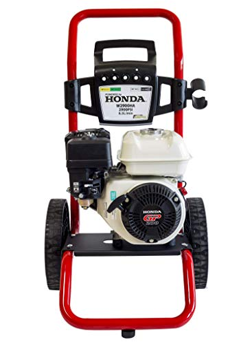 ✦ Nettoyeur haute pression à essence HONDA GP 200 ✦ 2900 PSI ✦ 196cc Machine portative à haute pression de laveuse à jet d'eau W2900HA ✦ Premium Fabriqué et conçu pour des voiture de qualité