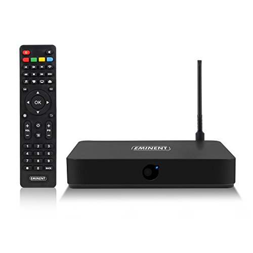 Eminent em7580 TV Streamer Media Player Full HD, Schwarz