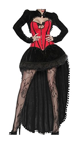 Vampir Kostüm Trikot - luxury & good Dessous Vampir-Kostüm 3XL
