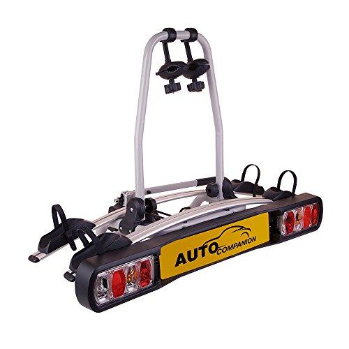 Auto Companion - Soporte para bola de remolque con plataforma trasera