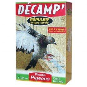 Dispositif métallique picots pigeons - 1.5 m