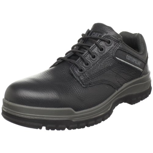 Caterpillar Men's Dimen Steel-Toe Oxford,Black,10.5 M US