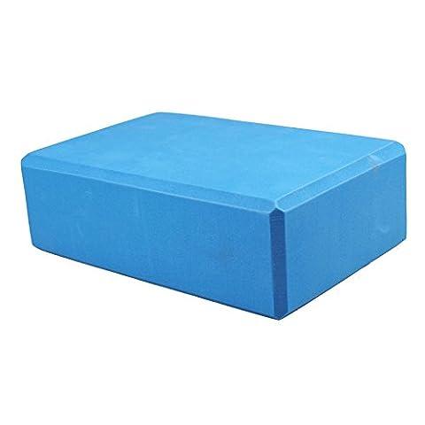 rawdah Yoga Block Brick Übung Fitness EVA Sports Gym Dehnen, blau