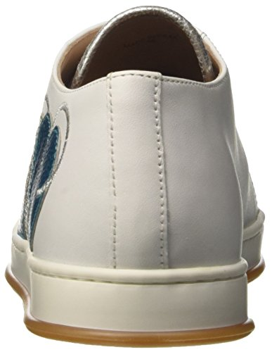 Twin Set Milano Cs8pm5, Baskets Femme Blanc (bianco Ottico)