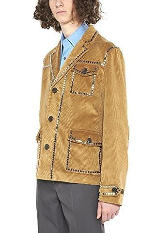 Prada Homme Sgn5691op2f0346 Marron Coton Blazer
