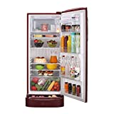 LG 235 L 5 Star Inverter Direct Cool Single Door Refrigerator (GL-D241ARGY, Ruby Glow)
