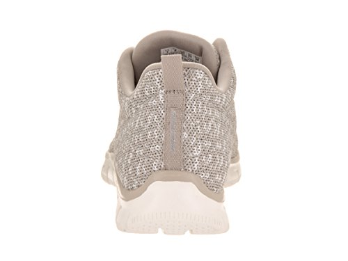 Skechers Empire TAUPE & WHITE TEXTILE/TRIM