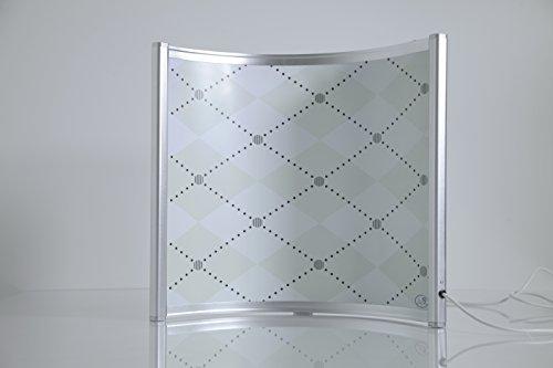 FERN INFRAROT Schreibtisch Heizung (neueste Technologie) 300W Bogenpaneel mit höchsten Sicherheitsstandards (CE, ROHS), 50...