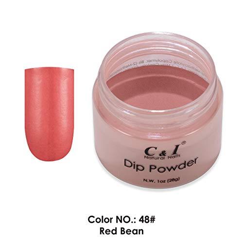 C & I Immersion à poudre Couleur n ° 048 Rouge Bean Système de couleur rouge
