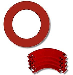 Dart Catchring (Surround/Auffangring) (Rot)