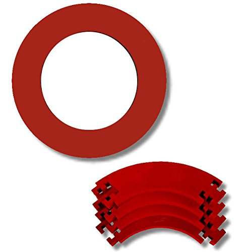 Dart Catchring (Surround/Auffangring) (Rot)