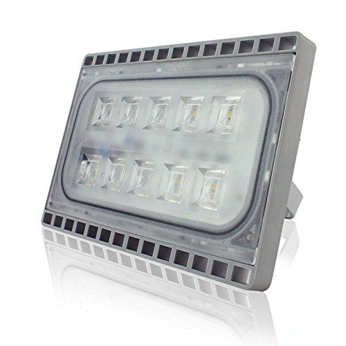 Faretto da Esterno e Interno 30W LED Faro a Luce Ultra Sottile Di Peso Leggero Proiettore Impermeabile IP65 per Illuminazione Luce B