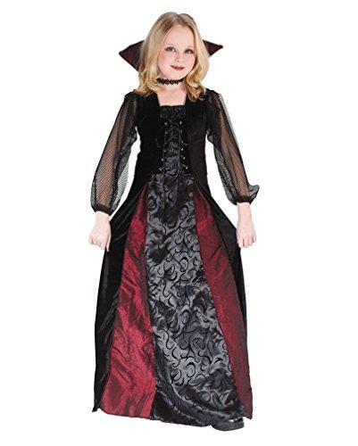 Lady Dracula Kinderkostüm Gr. L (Dracula Kostüm Mädchen)