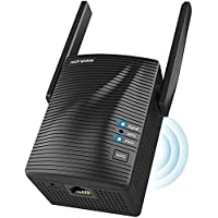 1200 Mbit/s WLAN Verstärker - WLAN Repeater für Steckdose (867MBit/s 5GHz + 300MBit/s 2,4GHz, mit Gigabit LAN, Access…