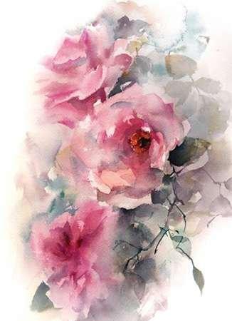 The Poster Corp Sophia Rodionov - Roses in Blush Kunstdruck (22,86 x 30,48 cm)