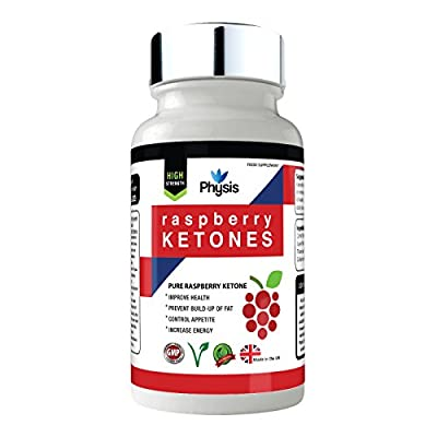 Raspberry Ketones - Weight Loss Supplement - 100% Pure Raspberry ketones - Max Strength - All Natural Lean Weight Loss Appetite Suppressant Supplement For Men And Woman - 30 Day Supply - 100% Money Back Guarantee - Suitable For Vegetarians - Made In Great