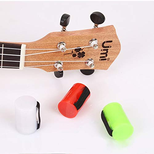 Ukulele Sand Shaker Hammer Rhythmus Maraca Cabasa Fingerring Ukulele Zubehör Musik Spielzeug - Schwarz ()