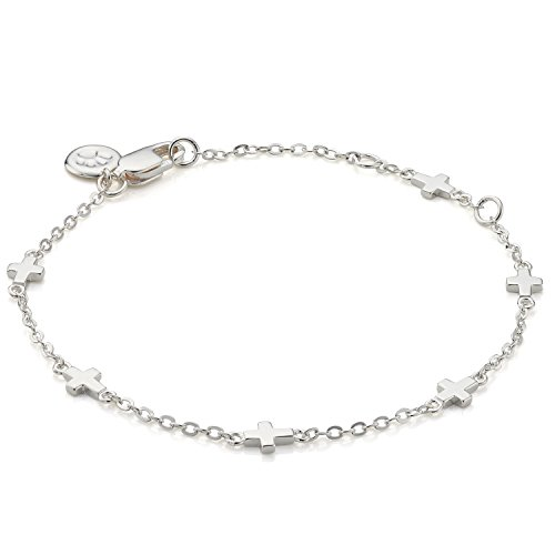 Molly Brown | Holy Communion By The Inch Cross Bracelet