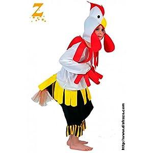 Fyasa 705974-t03disfraz de gallo, tamaño mediano