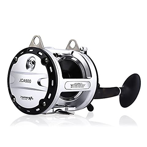 GBlife YUMOSHI Spinning Fishing Reel Light Weight Ultra Smooth Powerful Spinning Fishing Reel for Pike Carp Coarse Sea Game Match Predator Fishing