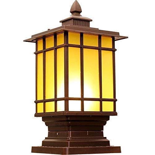 Xiao Im Freien Wasserdichten Wandleuchte Türpfosten Lampe Led Villa Garten-Licht-Tür Leuchte Wandaussenleuchte (Size : S) -