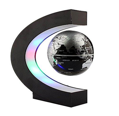 Globo terraqueo en levitacion magnetica