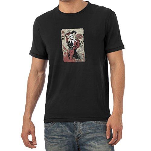 Texlab Harley Queen - Herren T-Shirt, Größe M, Schwarz