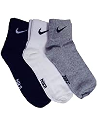 nike Multicolor Men's Combo Of 3 Pairs Socks (_Medium)