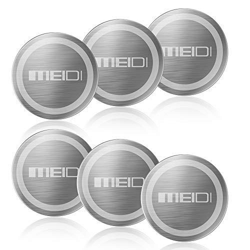 6 Pack Plate (MEIDI Mount Metallplatte 6er Pack Universal Metall Disc Ersatz Kit No Marking)