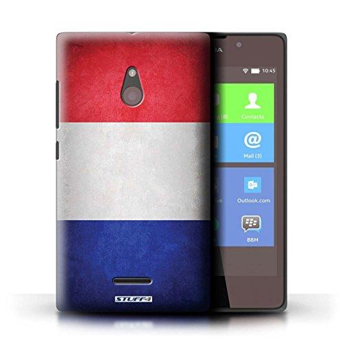Kobalt® Imprimé Etui / Coque pour Nokia XL / Angleterre/anglais conception / Série Drapeau France/français