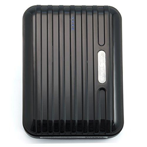 Samsung Galaxy Tab Note 2 10.1 N8000 N5100 Powerbank 12000 mAh Extern Ladegerät mit 5 Adapter - für Unterwegs Extern Batterie AKKU Zusatzakku für Alle Samsung Galaxy