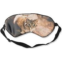 Eye Mask Eyeshade Cat Eyes Sleep Mask Blindfold Eyepatch Adjustable Head Strap preisvergleich bei billige-tabletten.eu