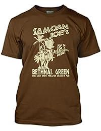 Bathroom Wall Lock Stock and Two Smoking Barrels Inspired Samoan Joes, Men's T-Shirt