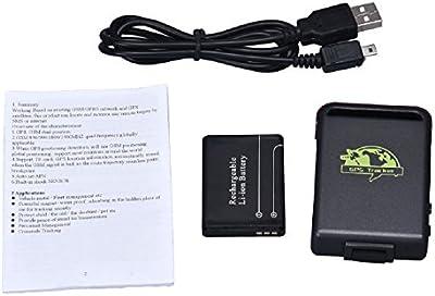 Tongshi Mini SPY vehículo GSM GPRS GPS del coche del vehículo de seguimiento Localizador TK102B del dispositivo