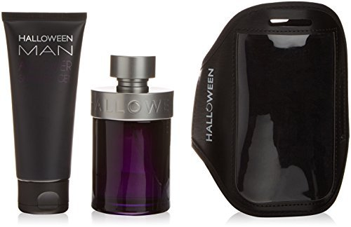 DEL POZO Halloween Man Set Eau de Toilette, 125 + All Over Showe Gel, 100 + Arm Band