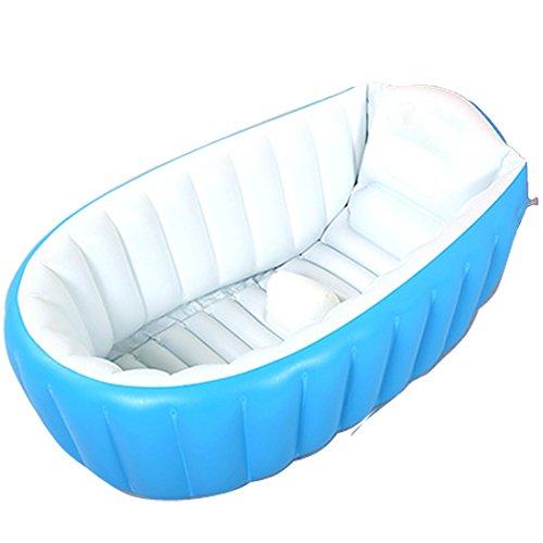 Aufblasbares Schwimmbecken Badewanne für Babys, Kleinkinder, faltbarer Mini-Pool, Badewanne/Duschwanne für unterwegs