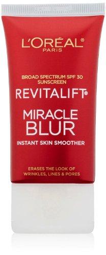 Velvet Moisturizing Cream (L'Oreal Paris RevitaLift Miracle Blur Cream, 1.18 Fluid Ounce)