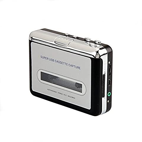 InVaFoCo Cassette Player / Cassette to MP3 Converter Cassette Recorder, Tape to MP3 CD iPod / Analog audio to Digital