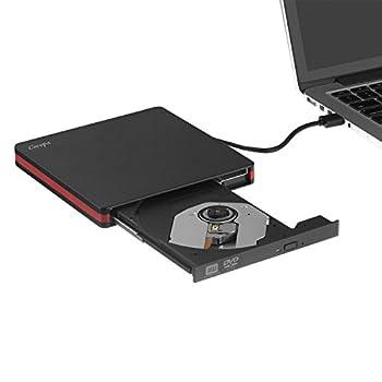 Tragbare, Die Cocopa, Externes Cd-laufwerk, Usb 3.0Cd Dvd +-Rw Auto-dvdcd-rom Rewriter Brenner Schreiber, High Speed Datentransfer Für Macbook Prolaptopdesktop-78.110Linux-betriebssystem 2