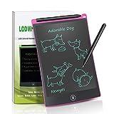 NEWYES NYWT850 - 8,5 pulgadas tableta gráfica portátil y pizarra resistente, tableta de dibujo adecuada para el hogar, escuela, oficina, cuaderno de notas, 1 año de garantía (rosa)